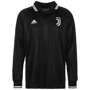 Juventus Turin Icons Longsleeve Herren, schwarz / weiß, zoom bei OUTFITTER Online