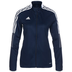 Tiro 21 Trainingsjacke Damen, dunkelblau / weiß, zoom bei OUTFITTER Online