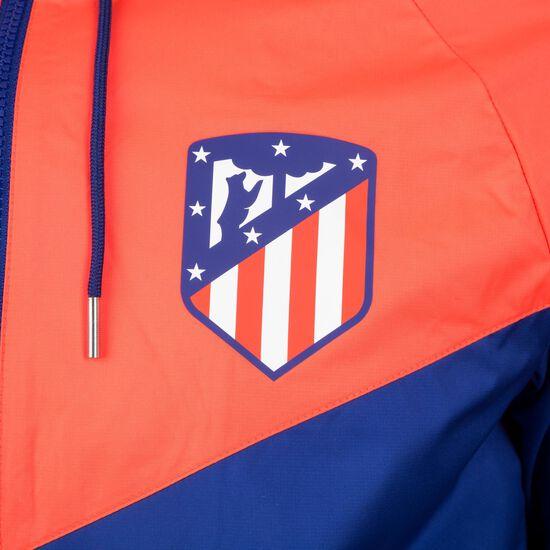 Atletico Madrid Windrunner Kapuzenjacke Herren, blau / rot, zoom bei OUTFITTER Online