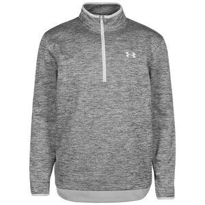Fleece 1/2 Zip Sweatshirt Herren, grau, zoom bei OUTFITTER Online