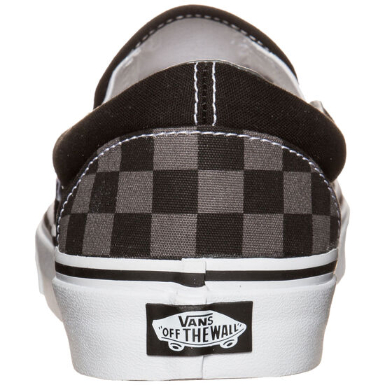 Classic Slip-On Checkerboard Sneaker, Schwarz, zoom bei OUTFITTER Online