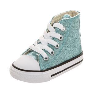Chuck Taylor All Star Glitter High Sneaker Kleinkinder, Türkis, zoom bei OUTFITTER Online