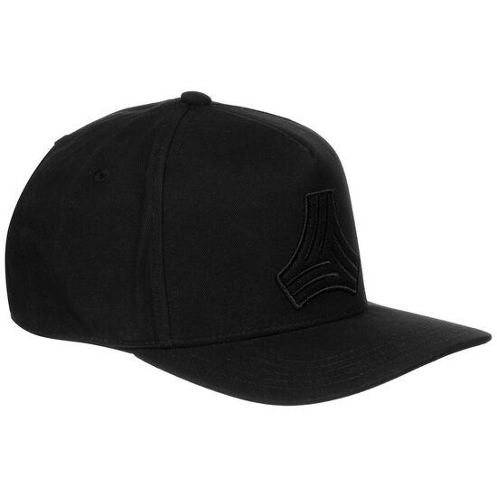Football Street H90 Snapback Cap, schwarz / weiß, zoom bei OUTFITTER Online