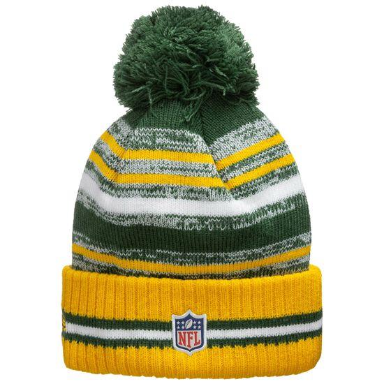 NFL Green Bay Packers Sideline Bobble Knit Mütze, , zoom bei OUTFITTER Online