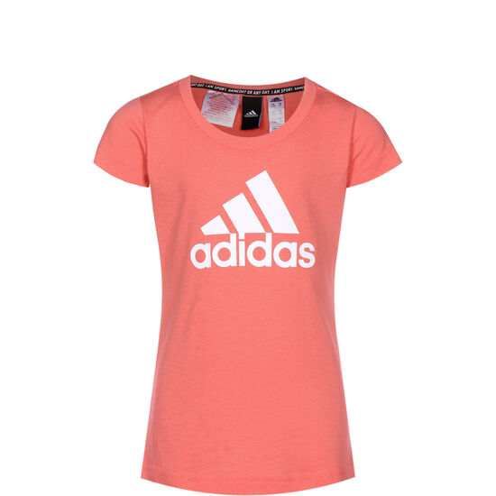 Must Haves Badge Of Sport Trainingsshirt Kinder, korall / weiß, zoom bei OUTFITTER Online
