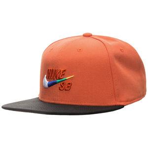 Icon Snapback Cap, orange / schwarz, zoom bei OUTFITTER Online