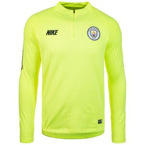 Manchester City Dry Squad Longsleeve Herren, gelb / dunkelblau, zoom bei OUTFITTER Online
