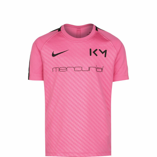 Kylian Mbappé Dry Trainingsshirt Kinder, pink / schwarz, zoom bei OUTFITTER Online