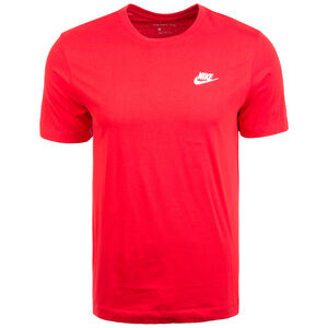 Club T-Shirt Herren, rot / weiß, zoom bei OUTFITTER Online
