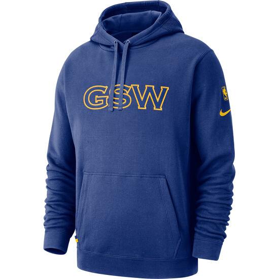 NBA Golden State Warriors Kapuzenpullover Herren, blau / gelb, zoom bei OUTFITTER Online