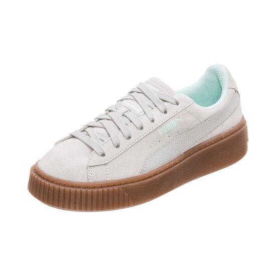 Suede Platform Radicals Sneaker Kinder, beige / mint, zoom bei OUTFITTER Online
