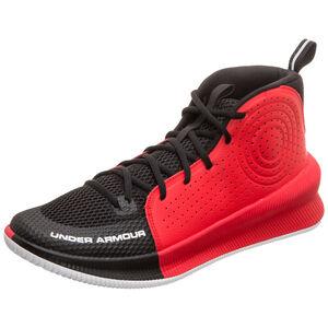 Jet Basketballschuhe Herren, schwarz / rot, zoom bei OUTFITTER Online