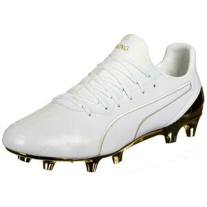 King Platinum MG Fußballschuh Herren, weiß / gold, zoom bei OUTFITTER Online