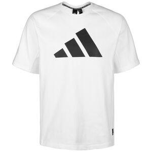 Pack Heavy Trainingsshirt Herren, weiß / schwarz, zoom bei OUTFITTER Online