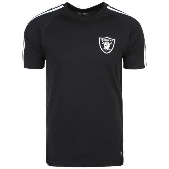 NFL Oakland Raiders Shoulder Print T-Shirt Herren, schwarz, zoom bei OUTFITTER Online