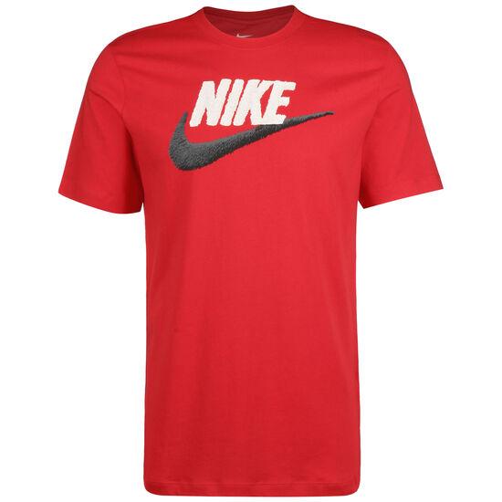 Brand Mark T-Shirt Herren, rot / weiß, zoom bei OUTFITTER Online
