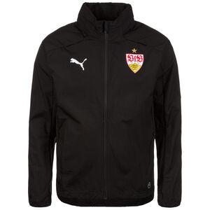 VfB Stuttgart Regenjacke, Schwarz, zoom bei OUTFITTER Online