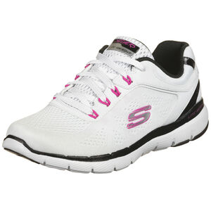 Flex Appeal 3.0 Steady Move Trainingsschuh Damen, weiß / pink, zoom bei OUTFITTER Online