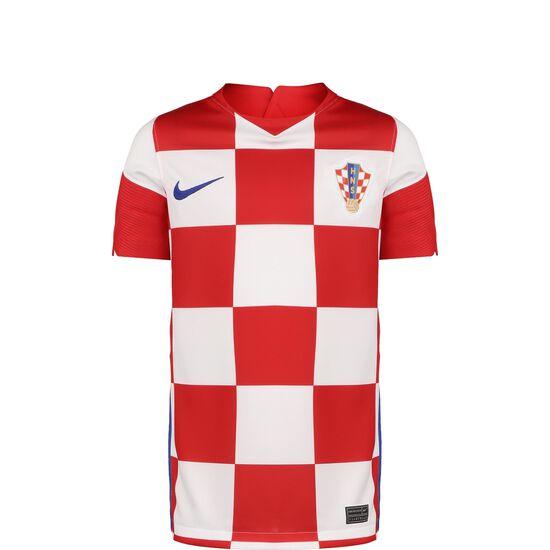 Kroatien Trikot Home Stadium EM 2021 Kinder, weiß / rot, zoom bei OUTFITTER Online