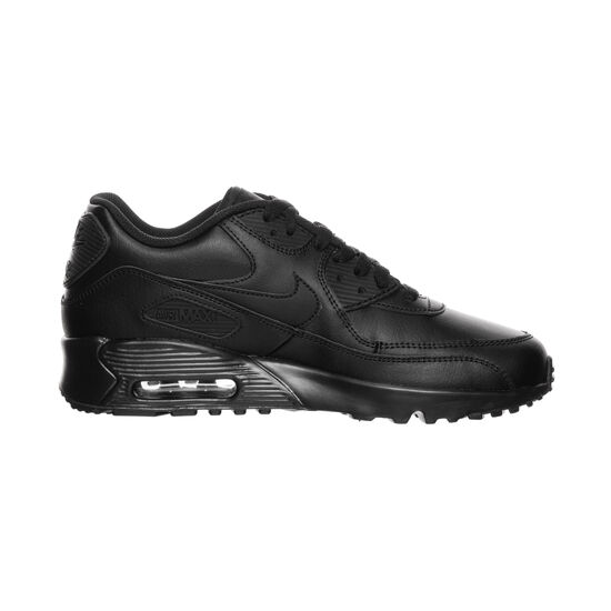 Air Max 90 Leather Sneaker Kinder, schwarz, zoom bei OUTFITTER Online