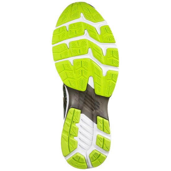 Gel-Kayano 27 Laufschuh Herren, grau / neongrün, zoom bei OUTFITTER Online