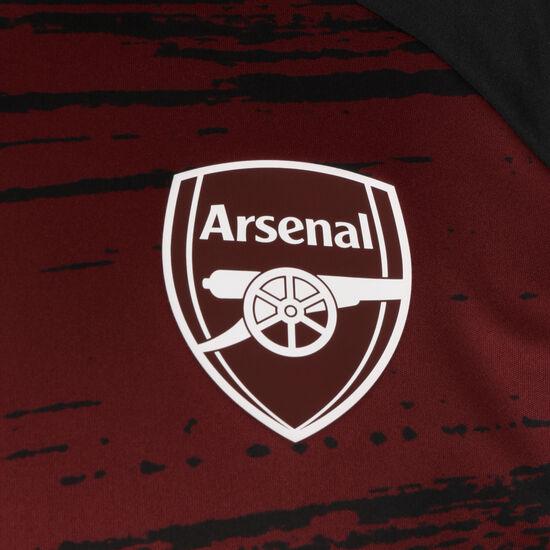 FC Arsenal Pre-Match Warm Sweatshirt Herren, weinrot / schwarz, zoom bei OUTFITTER Online