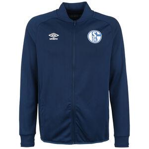 FC Schalke 04 Präsentationsjacke Herren, dunkelblau / weiß, zoom bei OUTFITTER Online