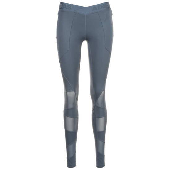 Alphaskin Utility Trainingstight Damen, blau, zoom bei OUTFITTER Online
