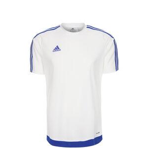 Estro 15 Fußballtrikot Kinder, weiß / blau, zoom bei OUTFITTER Online