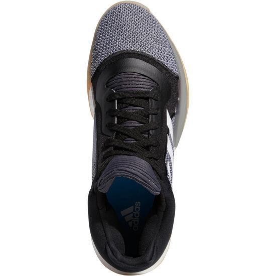 Marquee Boost Low Basketballschuhe Herren, weiß / blau, zoom bei OUTFITTER Online