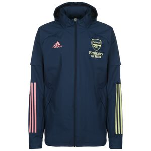 FC Arsenal All Weather Jacke Herren, dunkelblau / gelb, zoom bei OUTFITTER Online
