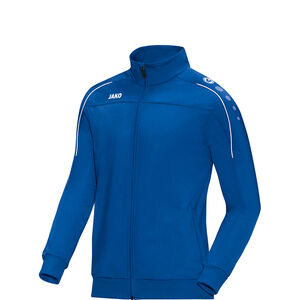 Classico Polyester Trainingsjacke Kinder, blau / weiß, zoom bei OUTFITTER Online