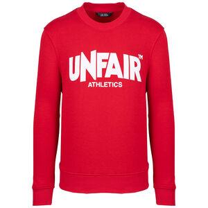 Classic Label Crewneck Sweatshirt Herren, rot / weiß, zoom bei OUTFITTER Online