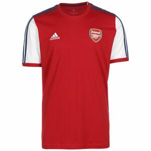FC Arsenal 3-Streifen T-Shirt Herren, rot / weiß, zoom bei OUTFITTER Online