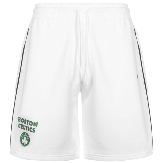 NBA Boston Celtics Stripe Piping Short Herren, weiß / grün, zoom bei OUTFITTER Online
