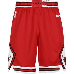 NBA Chicago Bulls Basketballshort Herren, rot / weiß, zoom bei OUTFITTER Online