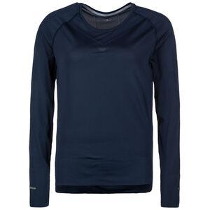 Seamless Laufshirt Damen, Blau, zoom bei OUTFITTER Online