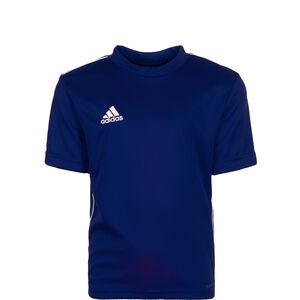 Core 18 Trainingsshirt Kinder, dunkelblau / weiß, zoom bei OUTFITTER Online
