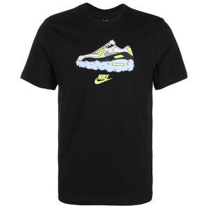 Air Max 90 T-Shirt Herren, schwarz, zoom bei OUTFITTER Online