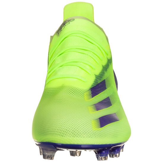 X Ghosted.1 AG Fußballschuh Herren, neongrün / blau, zoom bei OUTFITTER Online