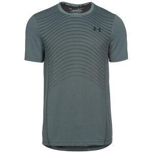 Seamless Wave Trainingsshirt Herren, blau, zoom bei OUTFITTER Online