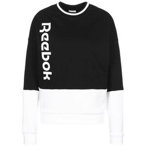 Essentials Logo Sweatshirt Damen, schwarz / weiß, zoom bei OUTFITTER Online