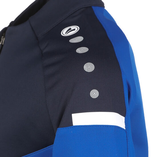 Champ 2.0 Ziptop Trainingssweat Kinder, blau / dunkelblau, zoom bei OUTFITTER Online