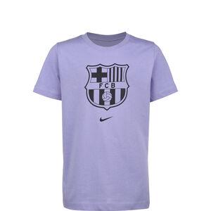 FC Barcelona Evergreen Crest T-Shirt Kinder, flieder, zoom bei OUTFITTER Online