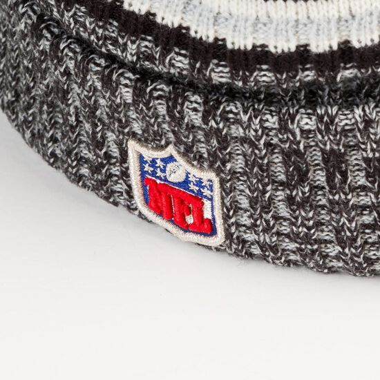 NFL Oakland Raiders Sideline Bobble Knit Beanie, , zoom bei OUTFITTER Online