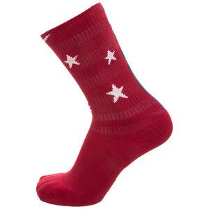 Elite Socken, rot / weiß, zoom bei OUTFITTER Online