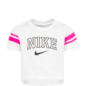 Sporty Crop T-Shirt Kinder, weiß, zoom bei OUTFITTER Online