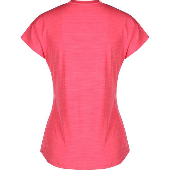 Badge of Sport Trainingsshirt Damen, pink / weiß, zoom bei OUTFITTER Online