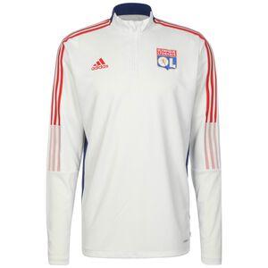 Olympique Lyon Trainingssweat Herren, weiß / blau, zoom bei OUTFITTER Online
