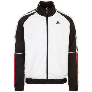 Edo Trainingsjacke Herren, weiß / schwarz, zoom bei OUTFITTER Online